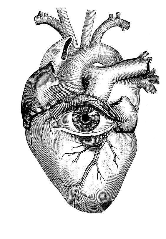 olho coração